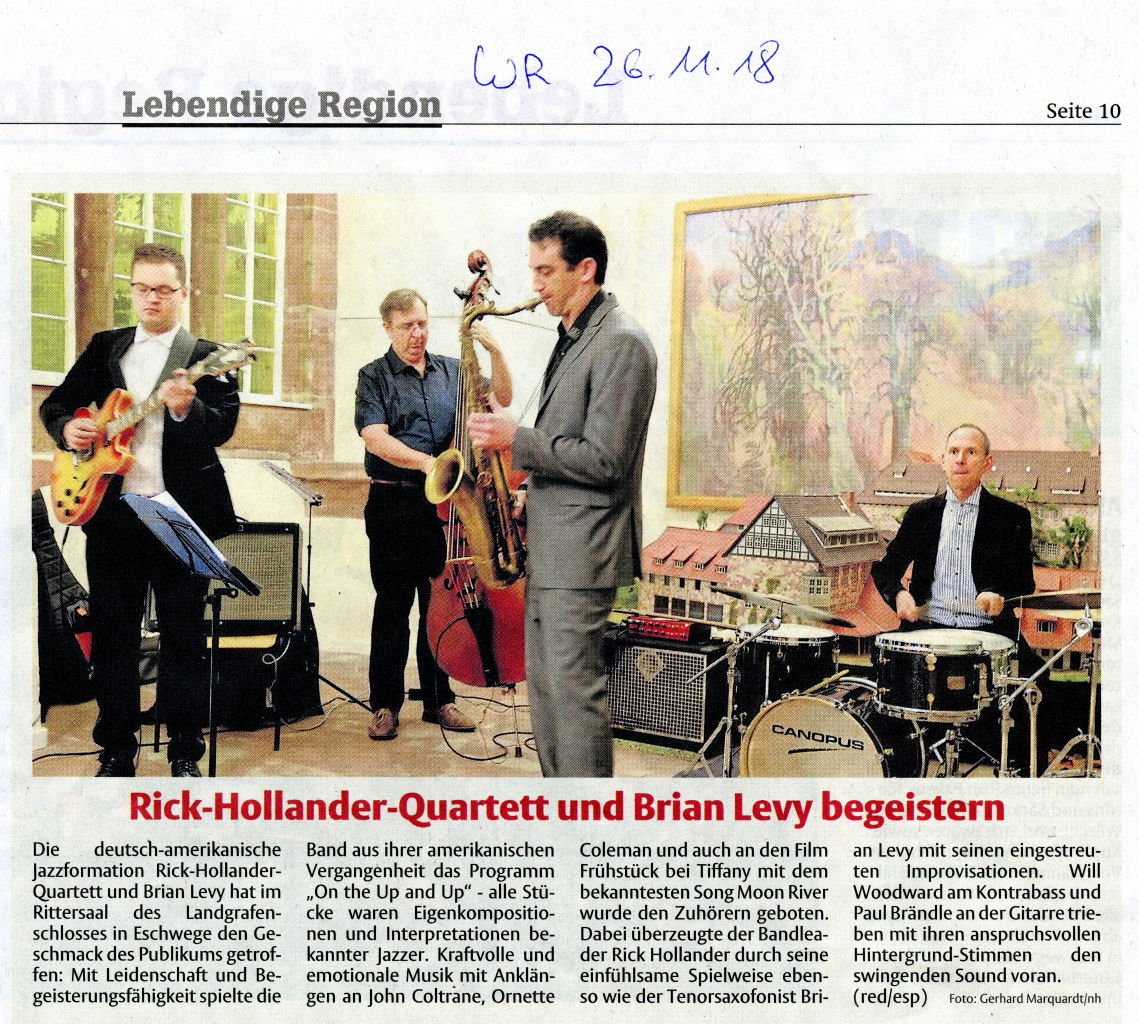 The Rick Hollander Quartet