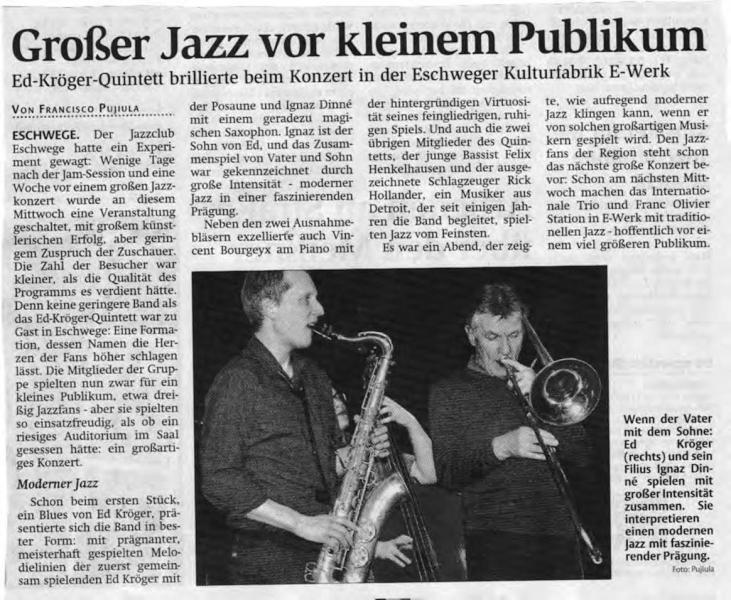 Ed-Kroeger-Quintett