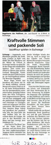 Hugo Scholz & Jazz4Four