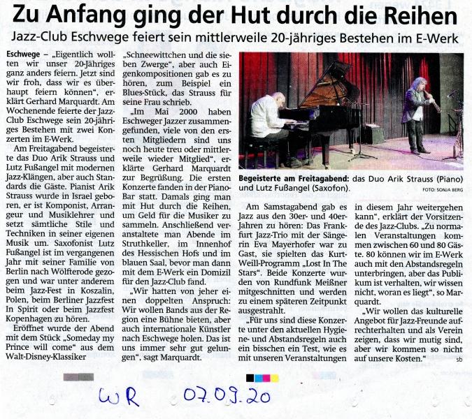 20 Jahre Jazz-Club Eschwege