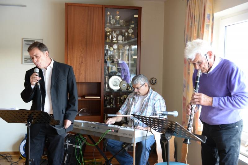 Sommerfest des Jazz-Clubs und des ERV mit der Swing Society